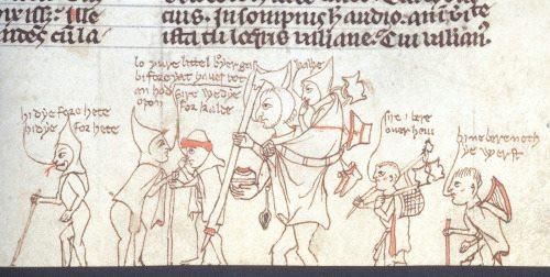 London, British Library, vers 1300