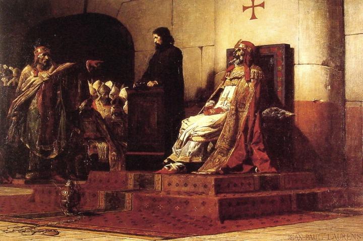 Le Concile cadavérique - Le Pape Formose et ÉtienneVI (1870)