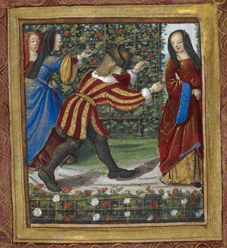 Livre d'amour de Pierre Sala XVIe siècle
