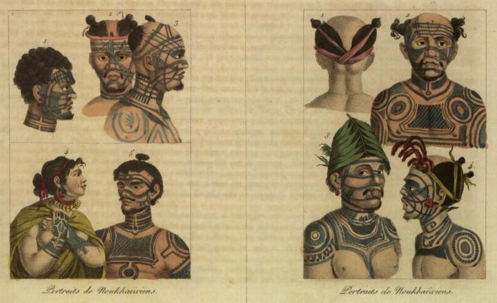 Jules et Edouard Verreaux, L'Océanie en estampes ou Description géographique et historique de toutes les îles du Grand Océan 1832